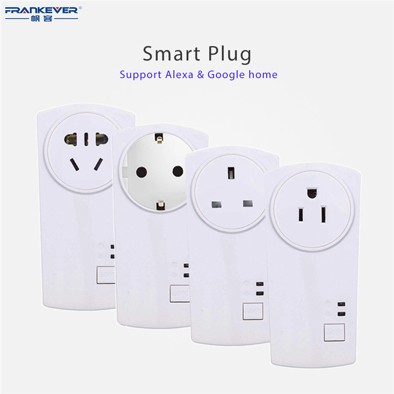FRANKEVER Smart Plug App Timing Switch Wifi Remote Control Wifi Socket Working with Amaz ...