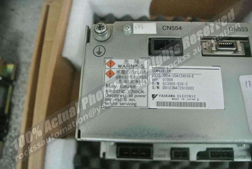 Használt jó állapotú SRDA-C0A12A01A-E ingyenes DHL / - Elektromos szerszám kiegészítők - Fénykép 4