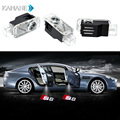 2PCS LED Emblem Laser Lamp Ghost Shadow Projector  Welcome Courtesy Warning Logo Light  for AUDI  S8