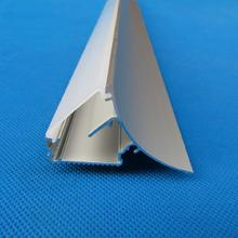 Free Shipping Milky/Clear Cover OEM ODM Wall Mounted Anodized Extrusion Aluminium Led Lighting Profile for strips 2m/pcs