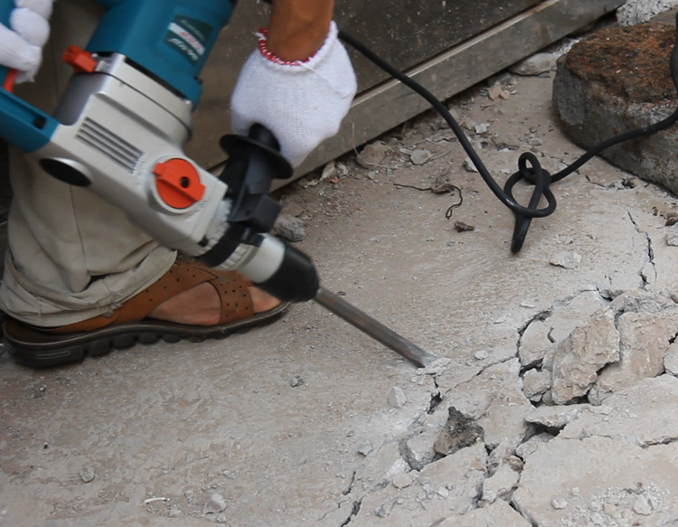 1200W elektrinio plaktuko gręžimo akmeninių kaltos sienos plytų - Elektriniai įrankiai - Nuotrauka 2