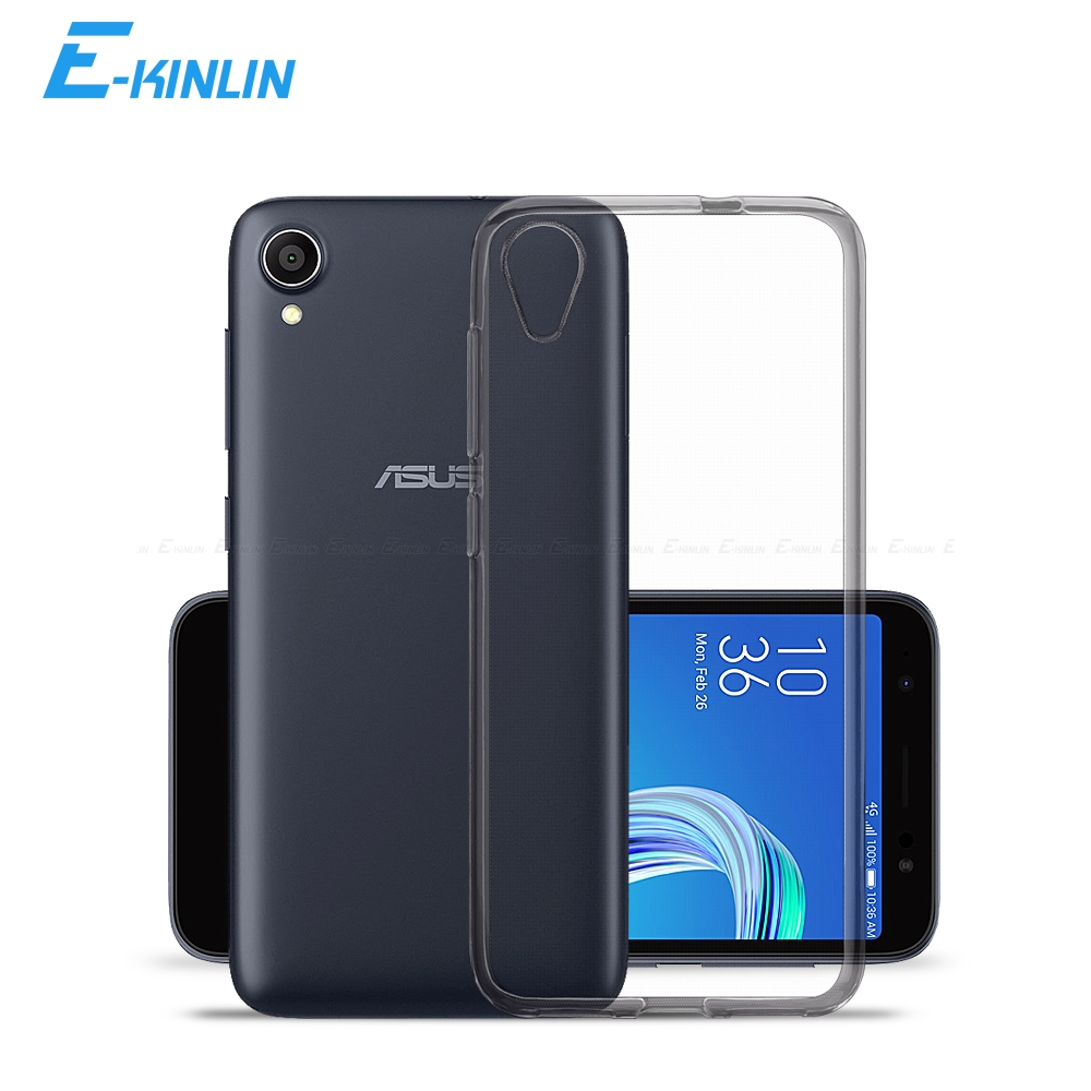 Clear Crystal Soft Silicone Back Cover For <font><b>Asus</b></font> ZenFone AR <font><b>Live</b></font> L1 ZB553KL ZS571KL <font><b>G500TG</b></font> ZA550KL ZB501KL Ultra Thin TPU Case image