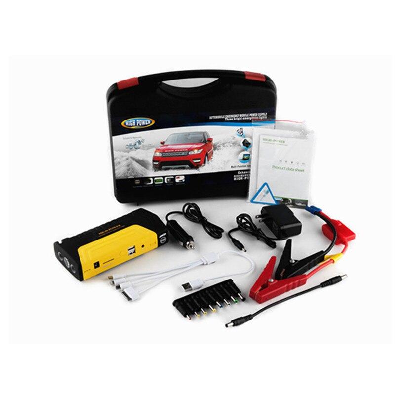 Автомобильное пусковое устройство, лучшее аварийное зарядное устройство, многофункциональное мини портативное зарядное устройство, пусковое устройство - Цвет: 50800 plastic box