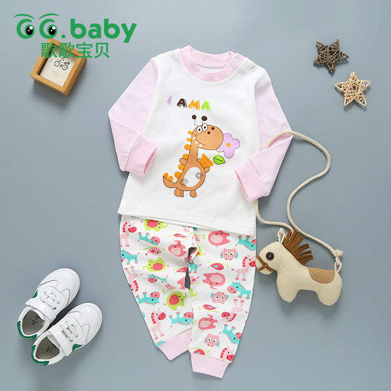 Winter Baby Girls Clothing Set Toddler Baby Boy Outfits For Babies Girl Pajamas Sets Kids Suit Infant Girl Children Clothes Suit