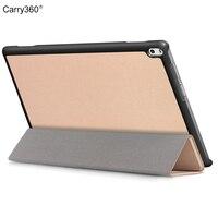 Case For Lenovo Tab 4 10 Plus TB X704L TB X704F TB X704FN Carry360 Rose Gold