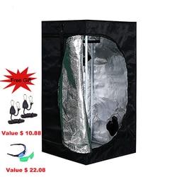 BEYLSION 50x50x100 cm Riflettente Mylar Non 1680D Flora Grow Tenda Coltivazione Indoor Tende Per La Serra Idroponica