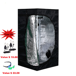 BEYLSION 50x50x100cm Reflective Mylar Non 1680D Plant Grow Tent Indoor Growing Tents For Hydroponic Greenhouse