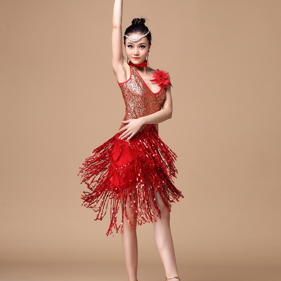 Samba Ballroom Dance Costumes