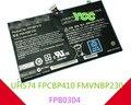 New genuine 14.8 V 48Wh 3300 mAh bateria para Fujitsu FPCBP410 FMVNBP230 Lifebook Uh574 UH554 FPB0304 Notebook