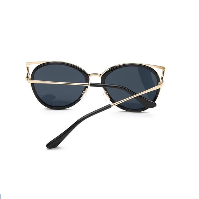 Pink vintage Mirror female Women Cat Eye Sunglasses Brand Designer