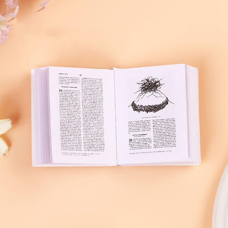 Image 5 - Creative Super Mini Arabic Quran Book Keychain Pendant PVC  Storage Bag Cute DIY Art Craft Key Decor New Year Valentine GiftKey  Chains