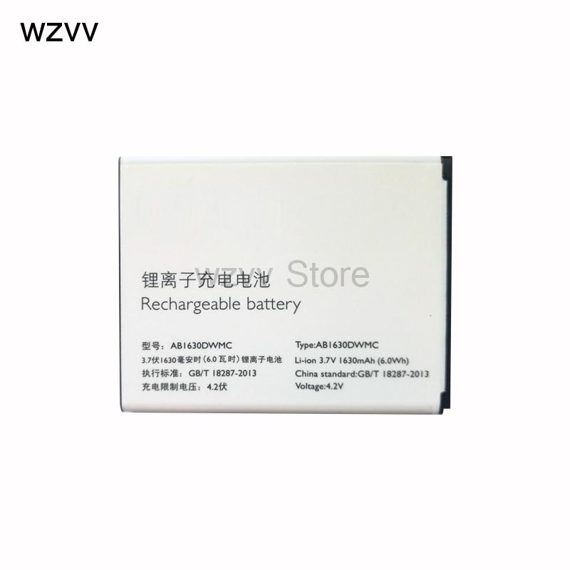 wzvv High Quality New 1630mAh Replacement Li-ion Battery AB1630DWMC For PHILIPS W536 W635 W6350 + Tracking Code