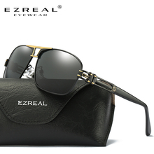 EZREAL New Arrival Polarized Sunglasses Men Brand Designer Fashion Eyes Protect Sun Glasses With EZREAL Box gafas de sol A377 стоимость