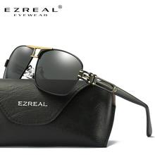 EZREAL New Arrival Polarized Sunglasses Men Brand Designer Fashion Eyes Protect Sun Glasses With EZREAL Box gafas de sol A377