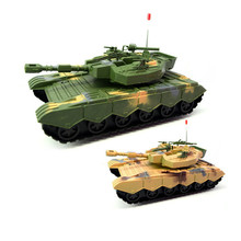 Фотография QICSYXJ Birthday Gift Supply Mega Military Tanks Model Creative Toy Inertial Car Tank Series