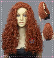 FREE SHIPPING *******Merida Princess Copper Red Halloween Wig