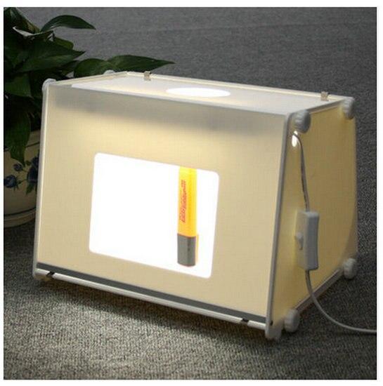 NOUVEAU 110 V/220 V SANOTO 12' X8' mini ordinateur portable Professionnel Photo Studio Lumière Douce Boîte Boîte à Lumière Photo MK30 Softbox Flash