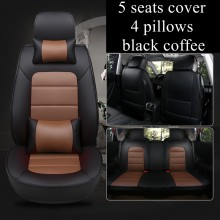 5 Seat Car Seat Cover fit CHEVROLET Impala/Niva/SPARK/Beat/Code/SS fit CHRYSLER 200/300C/Delta/Ypsilon automobiles seat covers(China)