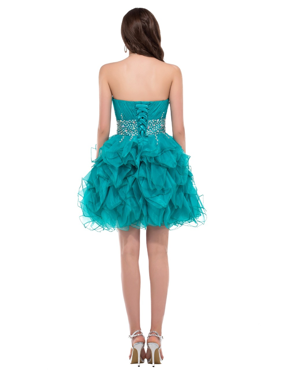 Grace Karin Short Prom Dresses Sexy Dark Turquoise Sweetheart ...