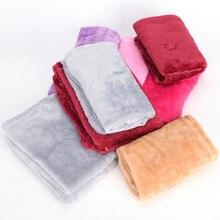 Лидер продаж, 1 шт., одноцветное одеяло для кровати, Флисовое одеяло s для кровати, одеяло, размер 50 см* 70 см, машинная стирка