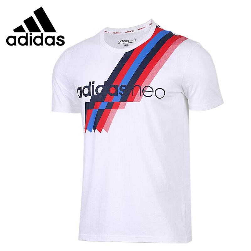 US $41.0 18% OFF|Original New Arrival 2018 Adidas NEO Label FAV Men's T shirts short sleeve Sportswear in Running T Shirts from Sports & Entertainment