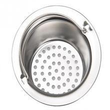 Stainless Steel Kitchen Sink Filter Round Floor Drain Sewer Drain Hair Colanders Strainers Filter Kitchen Sinks Accessory