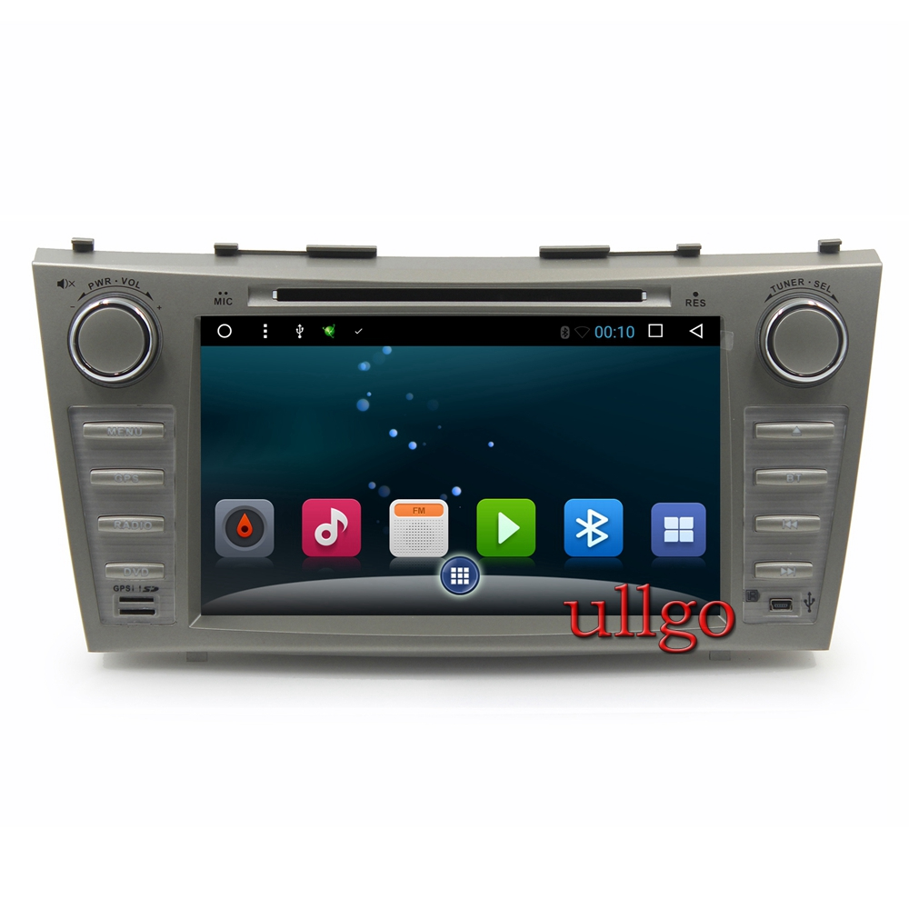 android 6 0 car dvd gps for toyota camry v40 2006 2011 autoradio gps with radio rds bt mirrior. Black Bedroom Furniture Sets. Home Design Ideas