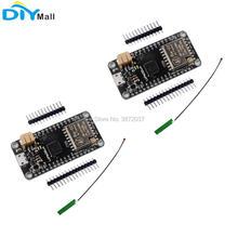 2pcs/lot 433MHz LoRa32u4 Development Board Ra02 LoRa WiFi Transceiver Module Atmega328 SX1278 + 1.13 IPEX Antenna for Arduino недорого