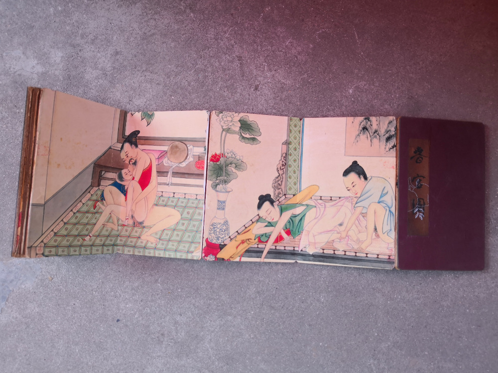 Worthy Collection Oriental Vintage Chinese scroll Paintings Figure Paintings