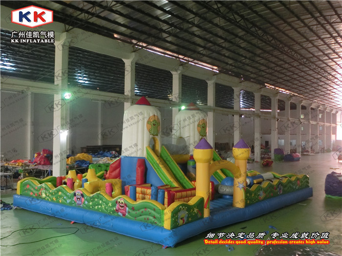 Playground Inflatable Bouncer Fun City Inflatable Amusement Park