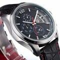 Homem moda Pagani design da marca de luxo militar relógios de quartzo dos homens à prova d' água relógio do esporte Relógio Reloj Hombre relogio masculino
