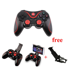 Smartphone Game Controller Wireless Bluetooth Phone Gamepad Joystick for Android Pad Tablet PC TV BOX With Mobile Holder 1056