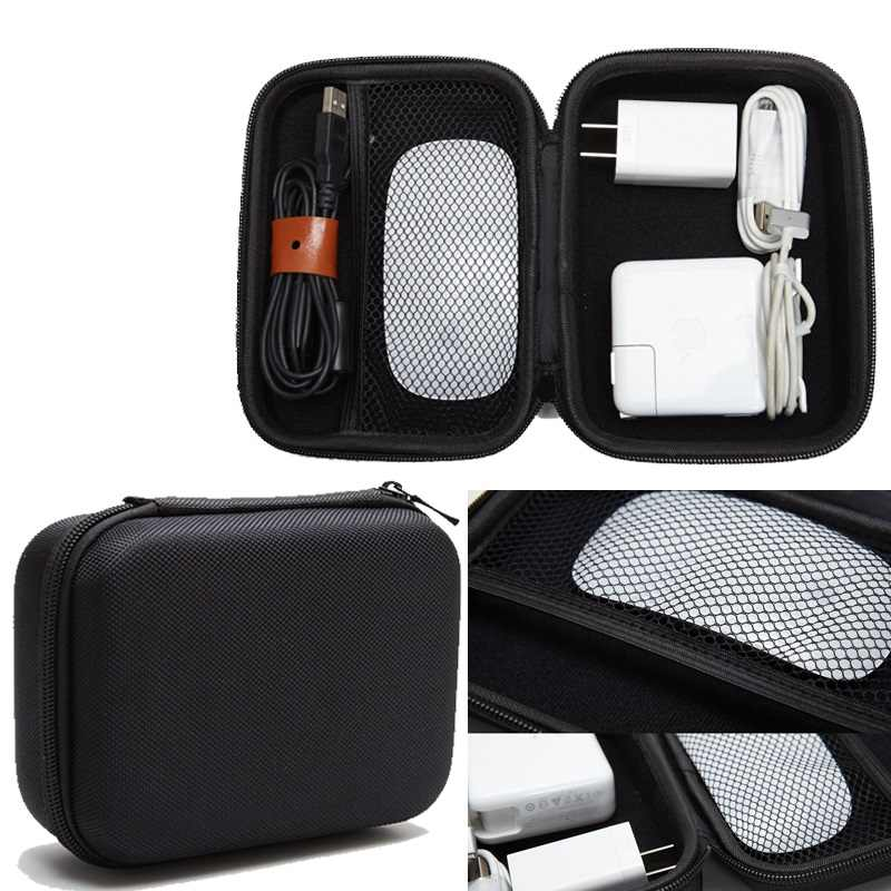 "Case bag for 2.5"" Hard Drive Disk HDD SSD Storage Pouch Bag Case for Accessory Mouse, Cellphone, Cables, SSD, HDD"