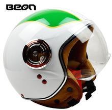 Beon супер jet мотоциклетный шлем итальянский стиль шлем еэк одобрил велосипед шлем