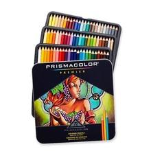 72 Цвета prismacolor Premier Цветные карандаши наборы, мягкий сердечник, Ляпис ручка Мелки de Couleur оригинальный Sanford Secret Garden карандаш