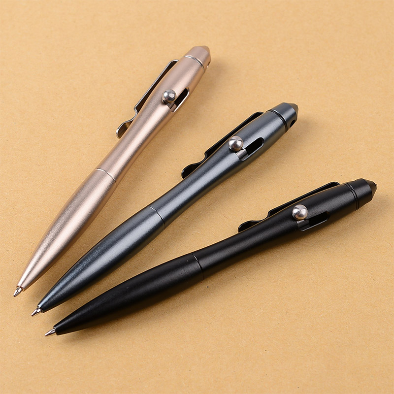 Portable Defense Tactical Pen Tungsten Steel Attack Head Broken Window Outdoor Sports Defensa Personal Survival Writing Pen