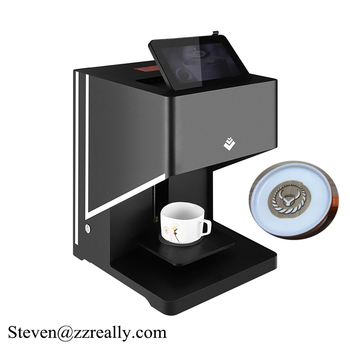 coffee printer QN1 coffee printer machine selfie coffee machine digital clock
