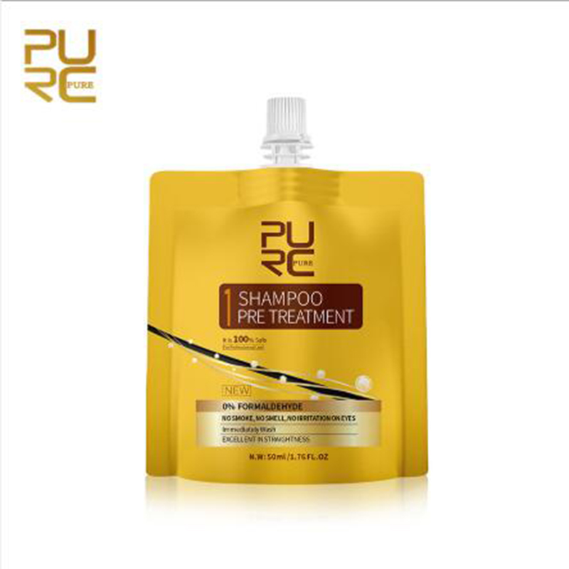 PURC Purifying Shampoo Hair Care Repair and Straightening Damage Deep Cleansing
