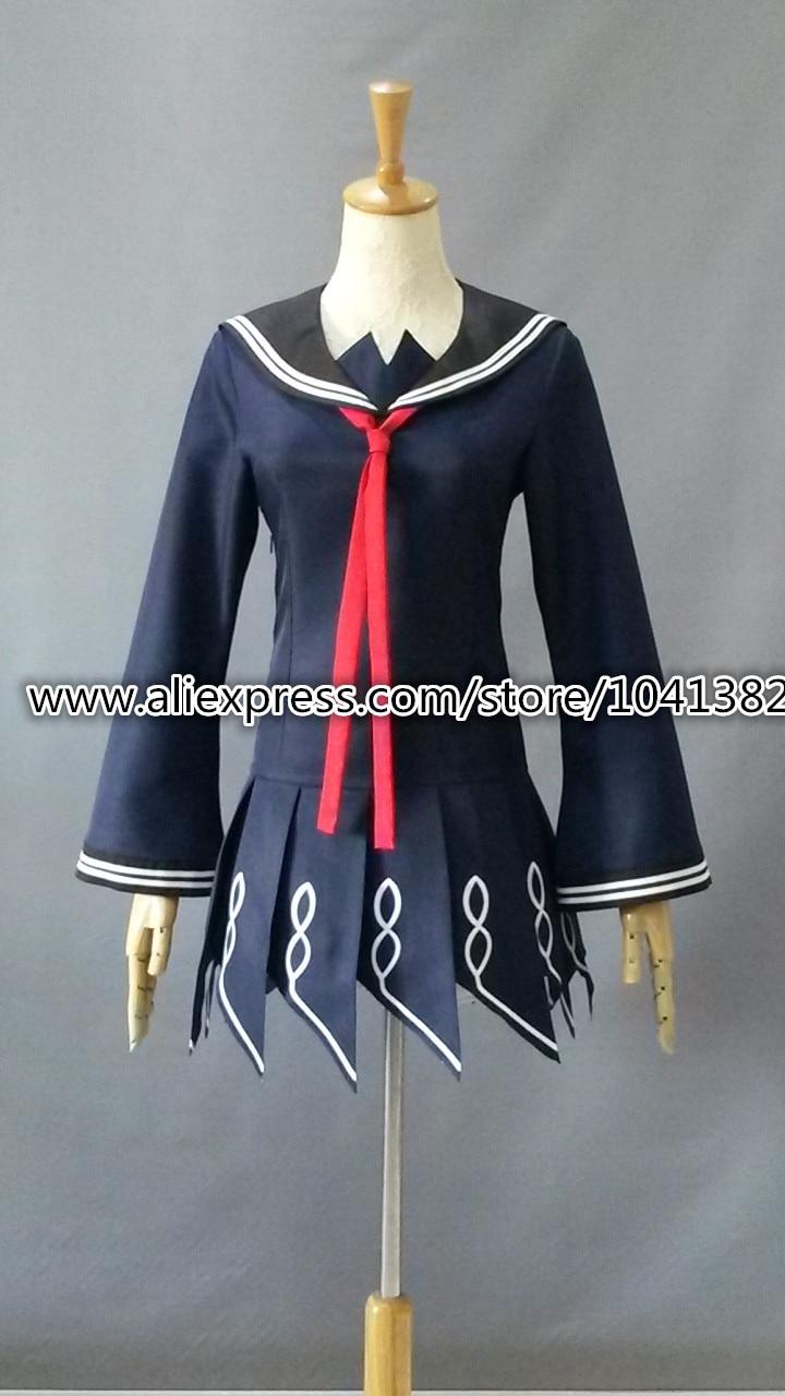 anime black bullet kisara tendo dress cosplay costume any size-in