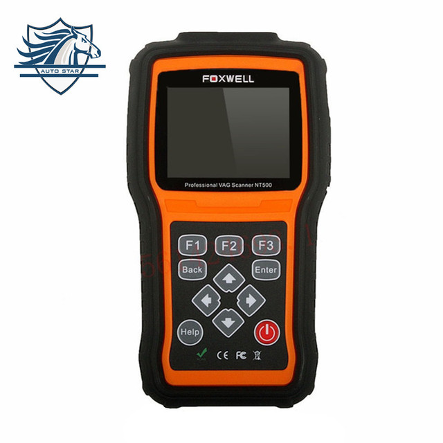 Original Foxwell NT500 For VW/Audi/Seat/Skoda VAG Scanner OBD2 Code Reader Diagnostic Tool with All System and Oil Service/EPB