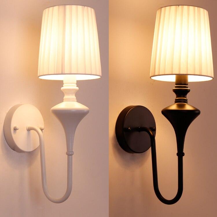 Vintage Style En Fer Forgé Simple Escaliers Salon Chambre Mur Lampe Pour Chambre Chevet Salle