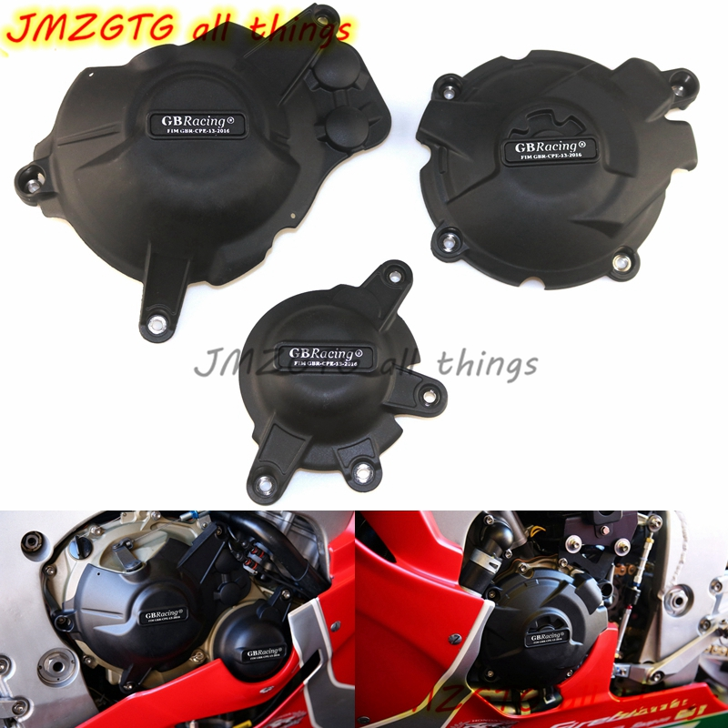 Motorcycles Engine cover Protection case for case GB Racing For HONDA CBR1000RR FIREBLADE/SP 2017 Engine Covers Protectors купить в Москве 2019