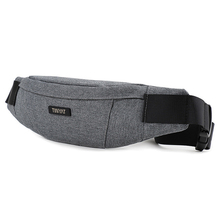 Weduoduo Men Waist Bag pack Waterproof Canvas Travel Phone belt bag pouch for Women Casual Shoulder Fanny Pack