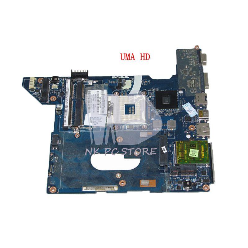 NOKOTION 590350-001 LA-4106P PC Motherboard For HP Pavilion DV4 DV4-2000 MAIN BOARD SYSTEM BOARD HM55 UMA DDR3 nokotion zs051 la a996p 764262 501 764262 001 motherboard for hp 15 g series laptop main board cpu ddr3
