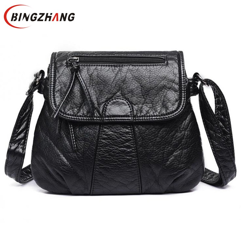 Brand Designer Women Messenger Bags Crossbody Soft PU Leather Shoulder Bag High Quality Fashion Women Bags Handbags L4-3160 水质理化指标检测工作页