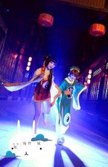 Card captor Sakura RI MEIRIN Benutzerdefinierte Größe Chinesischen Stil Alte Uniformen Cosplay Kostüm freies Verschiffen - 5