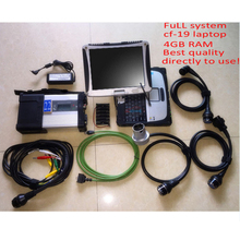 Wifi MB Star C5 SD Conenct c5 with laptop cf19 Toughbook diagnostic PC with mb star c5 newest software V2016.9 hdd for sd c5(China (Mainland))