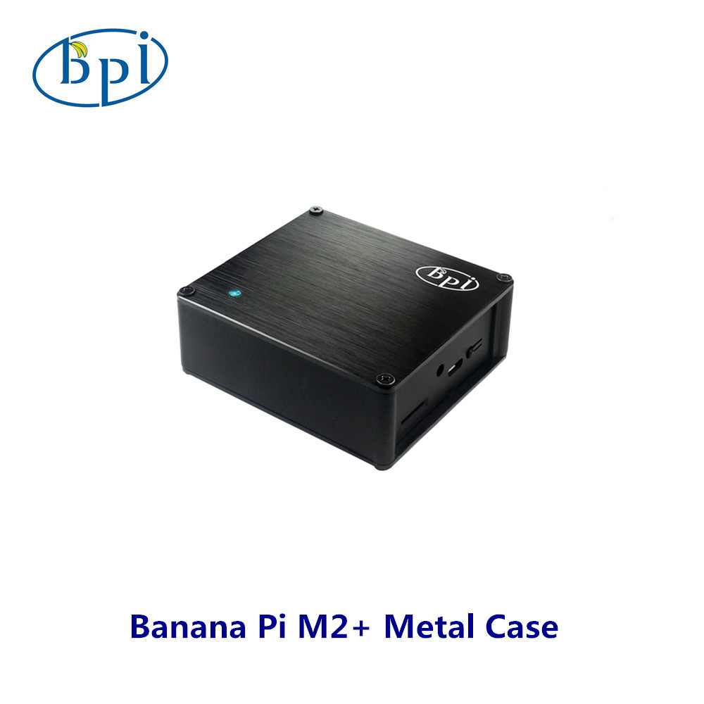Banana PI M2 Plus Metal Case Easier To Dissipate Heat