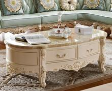 High Quality European Style Tea Table, Solid Wood Tea Table/Center Table  With