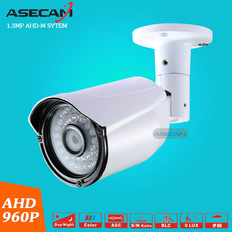 CCTV Camera AHD 960P Waterproof Outdoor Metal Bullet Surveillance Vandal-Proof Security Camera 36PCS LED Infrared Night Vision wistino cctv camera metal housing outdoor use waterproof bullet casing for ip camera hot sale white color cover case